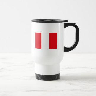 Caneca da bandeira de Peru