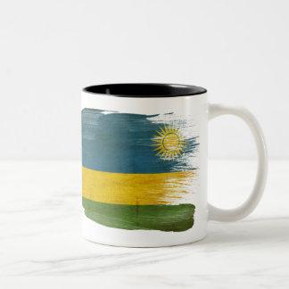 Caneca da bandeira de Rwanda