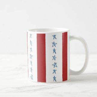 Caneca da bandeira dos Estados Unidos