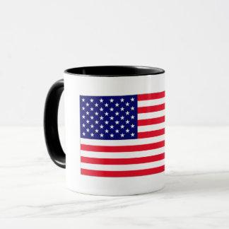 Caneca da bandeira dos EUA