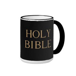 """Caneca da """"Bíblia Sagrada"""""""