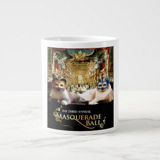 Caneca da bola de mascarada caneca de café muito grande