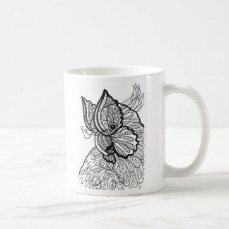 Caneca da borboleta 1 do Cockatoo