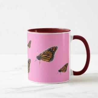 Caneca da borboleta de MONARCA