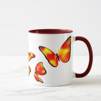 Caneca da borboleta do Phaeton