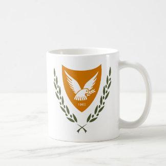 Caneca da brasão de Chipre