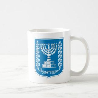 Caneca da brasão de Israel