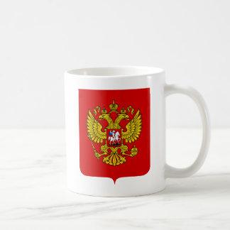 Caneca da brasão de Rússia