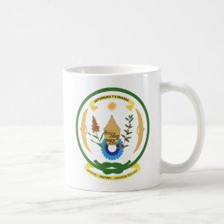 Caneca da brasão de Rwanda