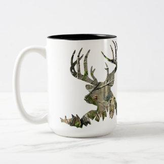 Caneca da caça dos cervos