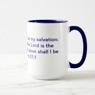 Caneca da campainha do 27:1 do salmo
