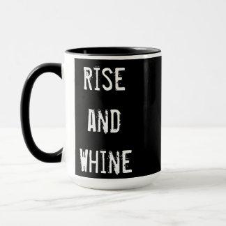 """Caneca Da """"caneca de café elevação e da lamentação"""""""