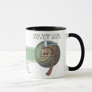 """Caneca Da """"caneca de Havamal da fama palavra"""" de Viking"""