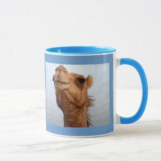 Caneca da cara do camelo