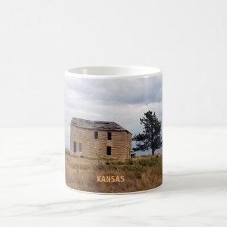 Caneca da casa da fazenda da pedra calcária de