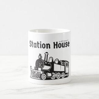 Caneca da casa de estação