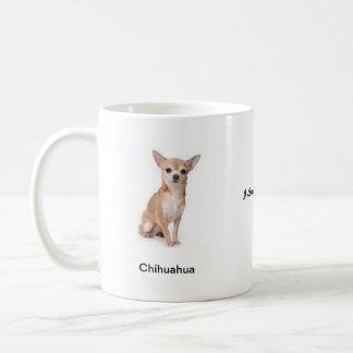 Caneca da chihuahua - com duas imagens e um motivo