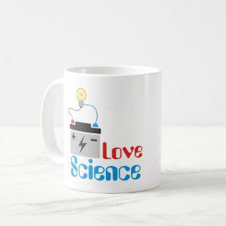 Caneca da ciência do amor
