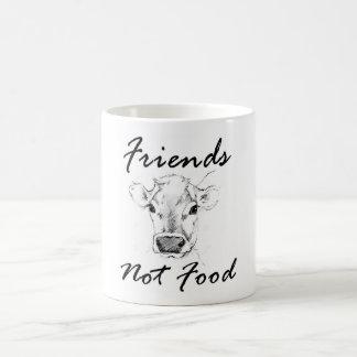 Caneca da comida dos amigos do Vegan não