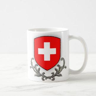 Caneca da crista da suiça
