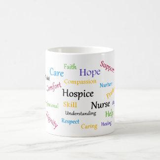 Caneca da enfermeira do hospício