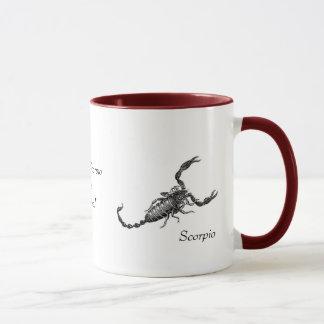 Caneca da Escorpião com dizer