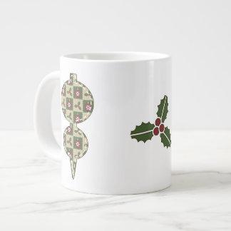 Caneca da especialidade da edredão do Natal