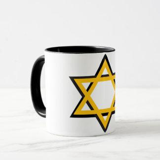 Caneca da estrela de David