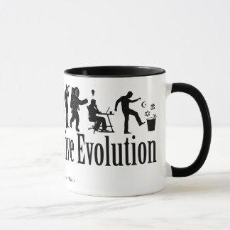 Caneca da evolução de Darwin