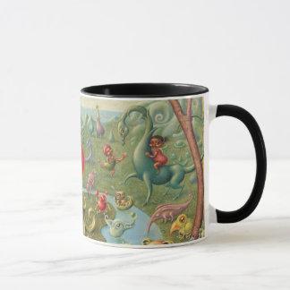 Caneca da fantasia: Sonho da menina da morango