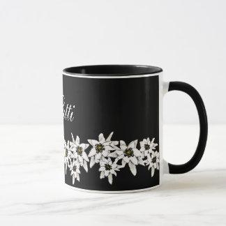 Caneca da flor de Edelweiss