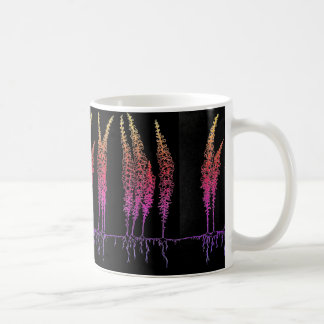 Caneca da flor de Snapdragoon do arco-íris