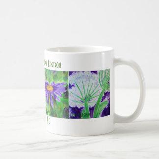 Caneca da flor selvagem