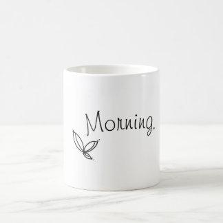 """Caneca da folha da """"manhã"""""""