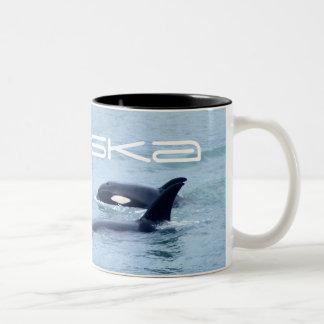 Caneca da foto da orca