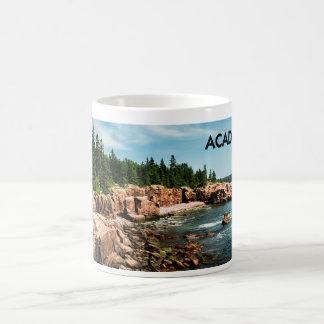 Caneca da foto do Acadia