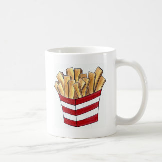 Caneca da fritada do fast food da sucata de Foodie