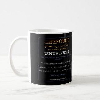 Caneca da intenção de LifeForce: UNIVERSO