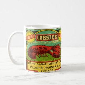 Caneca da lagosta da marca das maravalhas do