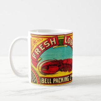Caneca da lagosta da marca de Bell do vintage
