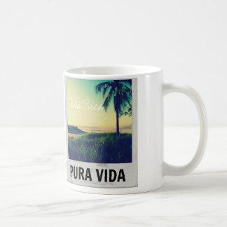 Caneca da lembrança de Pura Vida Costa Rica