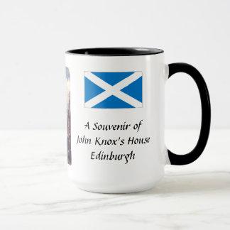 Caneca da lembrança - Edimburgo, a casa de John