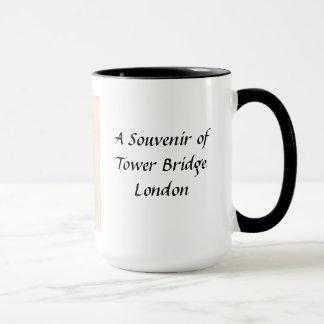 Caneca da lembrança - ponte da torre, Londres