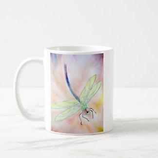 Caneca da libélula: Mosca bem, a brilhante!