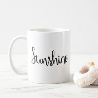 Caneca da luz do sol  