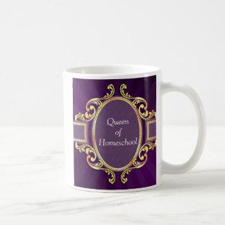 Caneca da mamã da rainha de Homeschool
