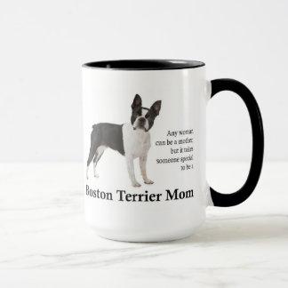 Caneca da mamã de Boston Terrier