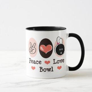 Caneca da novidade da bacia do amor da paz