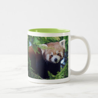 Caneca da panda vermelha