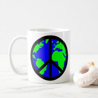 Caneca da paz de mundo